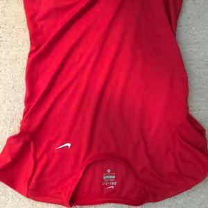 Nike dry fit women's running shirt